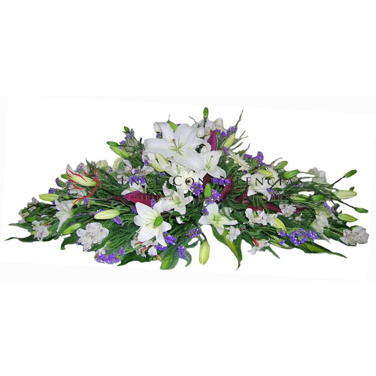 Arreglo funebre: Flores a tus Píes 1