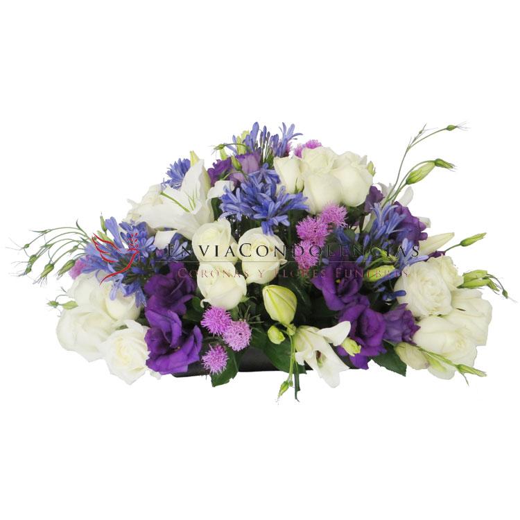 Arreglo funerario: Tristeza