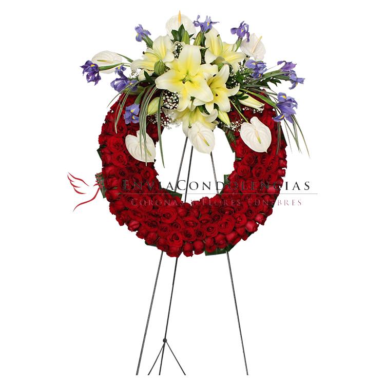 Corona Fúnebre Mediana: Arcángel Dulce Memoria