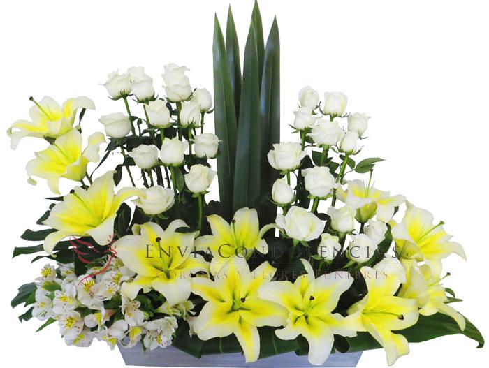 Flores funebres: Alas de Ángel