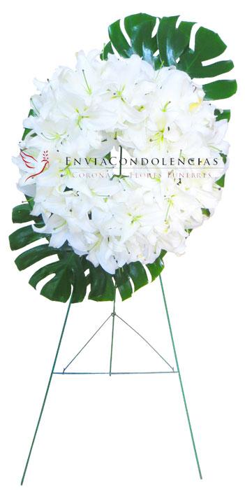 Corona Fúnebre: Ángel  de Brazos Abiertos