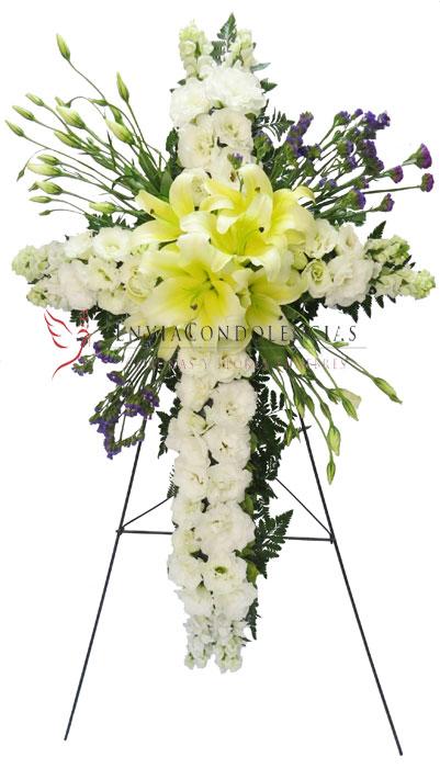 Flores para funeral: Luz Acompañante